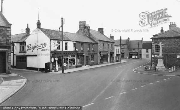 Photo of Wolsingham, Market Place c1955, ref. w210016