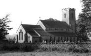 Wolsingham, Parish Church c1955