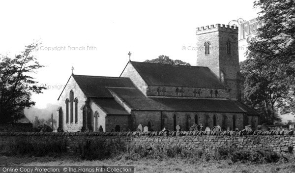 Photo of Wolsingham, Parish Church c1955, ref. w210039