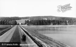 Wolsingham, The Dam And Reservoir c.1955