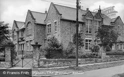 The Grammar School c.1955, Wolsingham