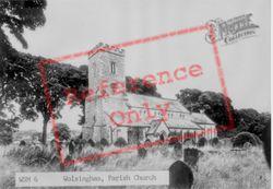 The Parish Church Of St Mary And St Stephen c.1955, Wolsingham