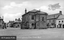The Town Hall c.1955, Wolsingham