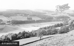 Wolsingham, Tunstall Reservoir c.1955