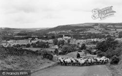 Wolsingham, View From Wear Bank c.1955