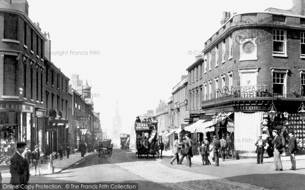 Wolverhampton, Darlington Street 1890