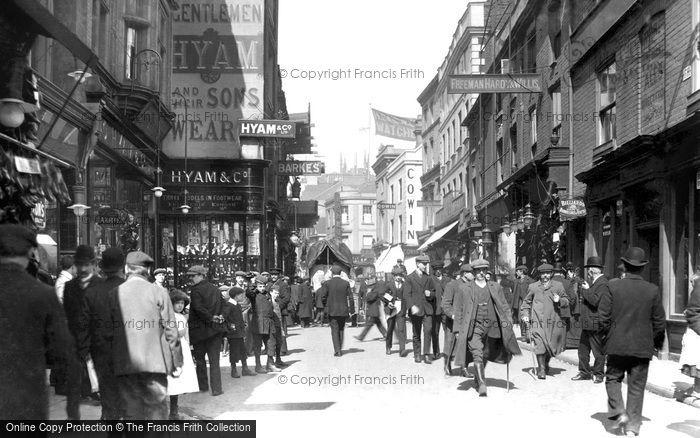 Photo of Wolverhampton, Dudley Street c.1900