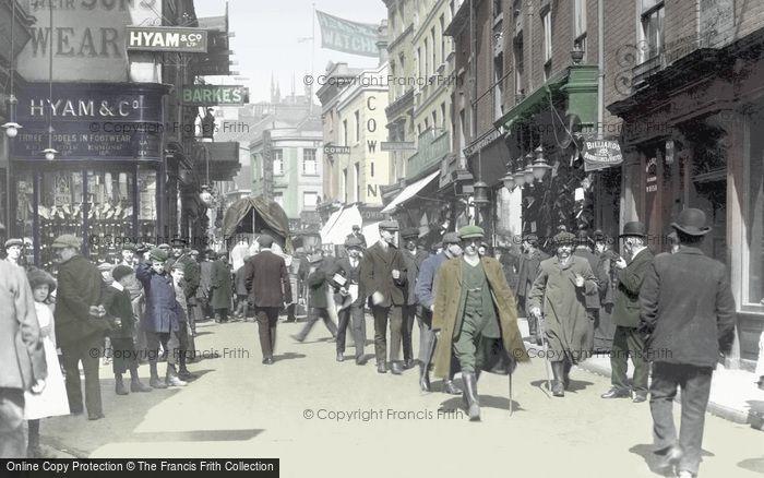 Wolverhampton, Dudley Street c1900