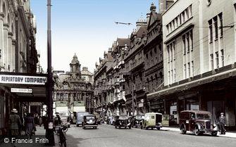 Wolverhampton, Lichfield Street c1955