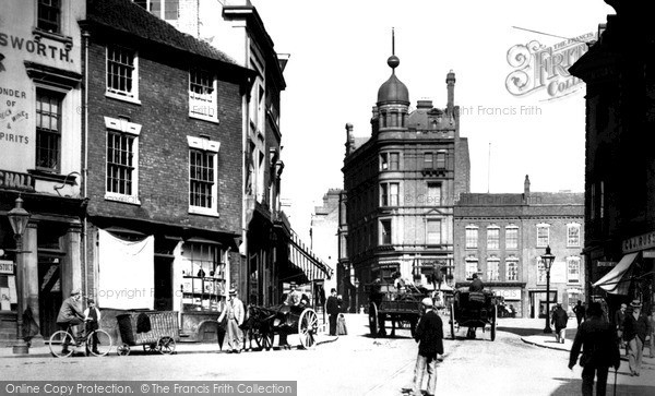 Wolverhampton, Queen Square 1890