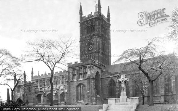 Wolverhampton, St Peter's Church c1955