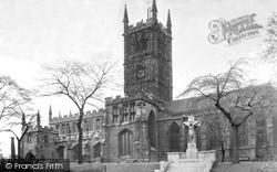 Wolverhampton, St Peter's Church c.1955