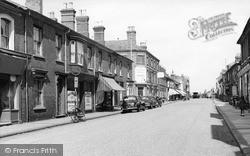Wolverton, Church Street c.1955