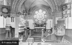 Wolverton, Holy Trinity Church Interior c.1960