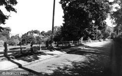Wolverton, Holy Trinity Church, Old Wolverton Road c.1960