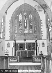 Wolverton, St George's Church Interior c.1965