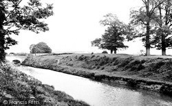 Wolverton, The Canal c.1950