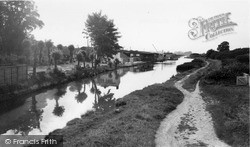 Wolverton, The Grand Union Canal c.1960