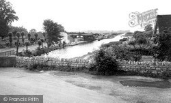 Wolverton, The Grand Union Canal c.1965