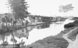 Wolverton, The Grand Union Canal, Galleons Wharf c.1960