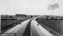 Wolverton, The M1 At Little Linford c.1960