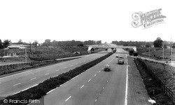 Wolverton, The M1 Motorway c.1960