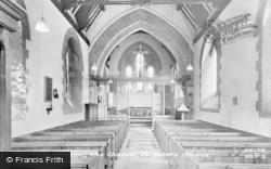 Wolviston, St Peter's Church, Interior c.1955