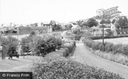 Wombourne, From Greenhill c.1965
