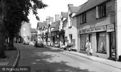 Wombourne, High Street c.1965