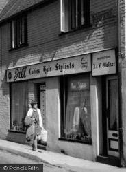 Wombourne, Jill Walker's Hair Salon, High Street c.1965