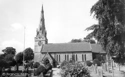 Wombourne, St Benedict Biscop Church 1969