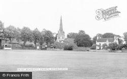 Wombourne, St Benedict's Church c.1960