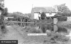 Wombourne, The Canal, Giggetty c.1965