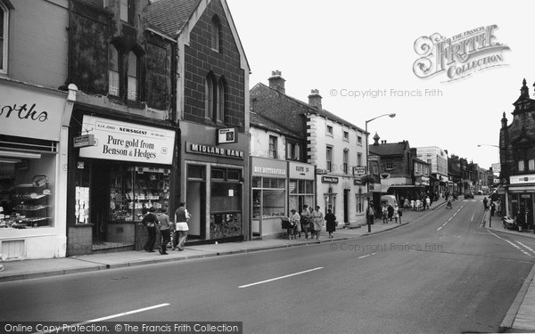 Photo of Wombwell, High Street 1962