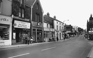 Wombwell, High Street 1962
