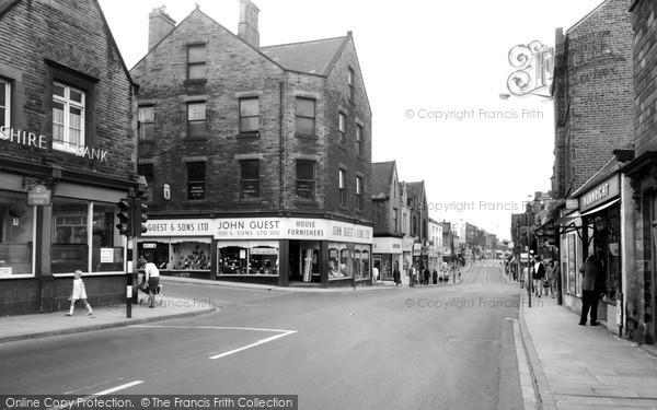Wombwell, High Street c1965