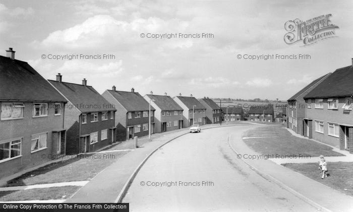 Photo of Wombwell, New Estate c.1965
