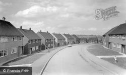 Wombwell, New Estate c.1965