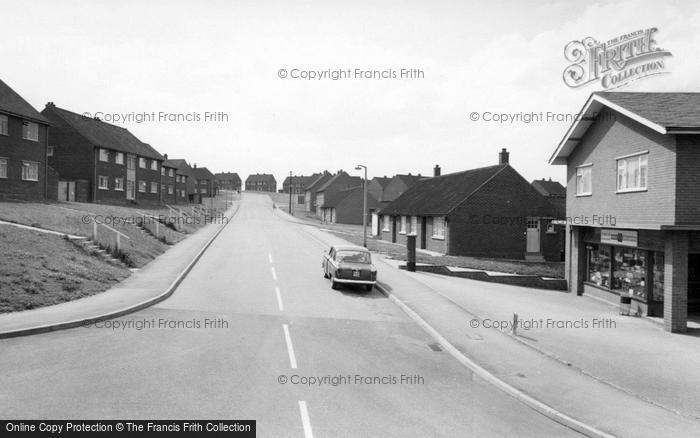 Photo of Wombwell, Pearson Crescent c.1965