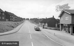 Wombwell, Pearson Crescent c.1965