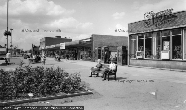 Photo of Wombwell, Shopping Centre c.1965