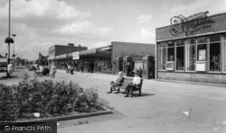 Shopping Centre c.1965, Wombwell