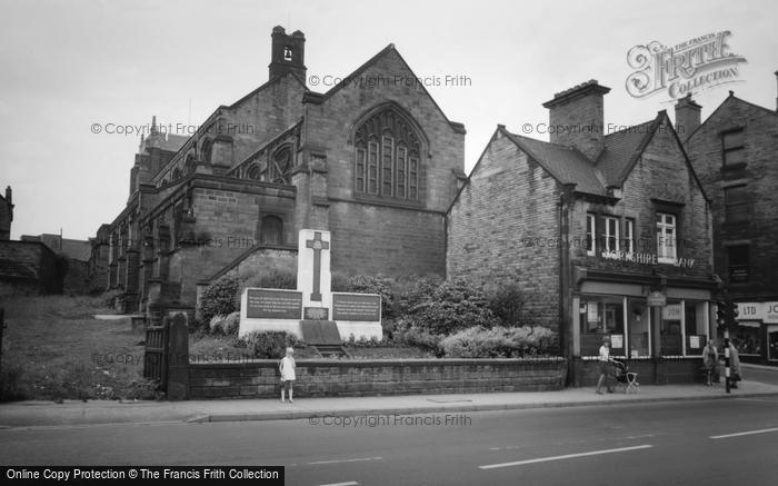 Photo of Wombwell, St Mary's Church c.1965