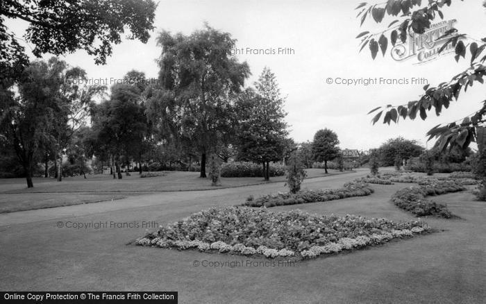 Photo of Wombwell, Wombwell Park c.1965