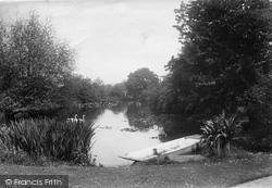 Wonersh, Great Tangley Manor, The Lake 1913
