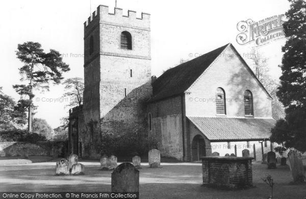 Photo of Wonersh, The Church c.1960