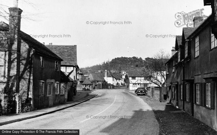 Photo of Wonersh, The Street c.1955