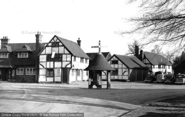 Photo of Wonersh, The Village c.1955