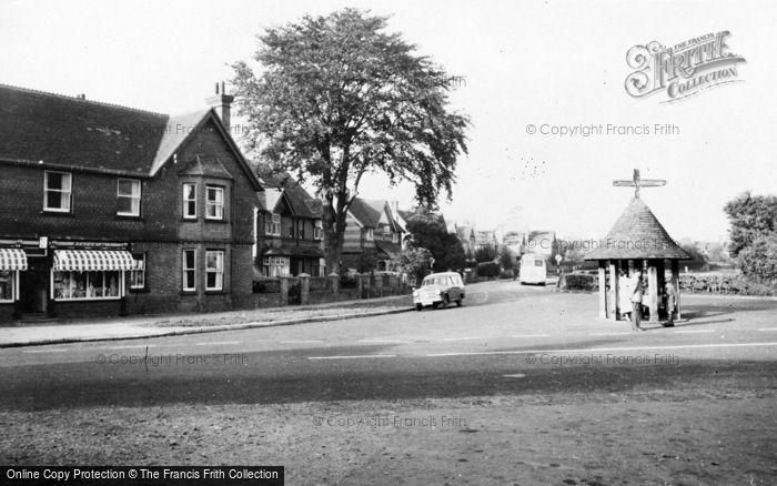 Photo of Wonersh, The Village Centre c.1960