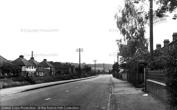Photo of Wooburn Green, Boundary Road c.1955